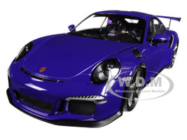 2015 Porsche 911 GT3 RS Ultra Violet Limited Edition 1002 pieces Worldwide 1/18 Diecast Model Car Minichamps 155066221