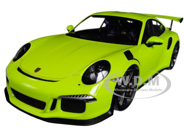 2015 Porsche 911 GT3 RS Light Green Limited Edition 1002 pieces Worldwide 1/18 Diecast Model Car Minichamps 155066222