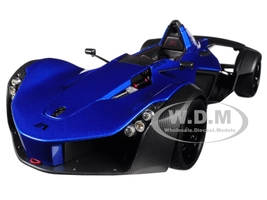 BAC Mono Metallic Blue 1/18 Model Car Autoart 18115