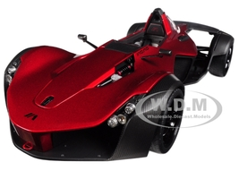 BAC Mono Metallic Red 1/18 Model Car Autoart 18119