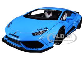 Lamborghini Huracan LB-Works Metallic Sky Blue 1/18 Model Car Autoart 79122