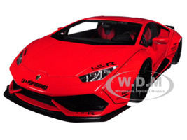 Lamborghini Huracan LB-Works Red 1/18 Model Car Autoart 79123