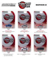 Tokyo Torque Series Release 2 Set 6pcs 1/64 Diecast Model Cars Greenlight 29900