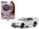 2001 Nissan Skyline GT-R BNR34 White Pearl Tokyo Torque Series 2 1/64 Diecast Model Car Greenlight 29900 E