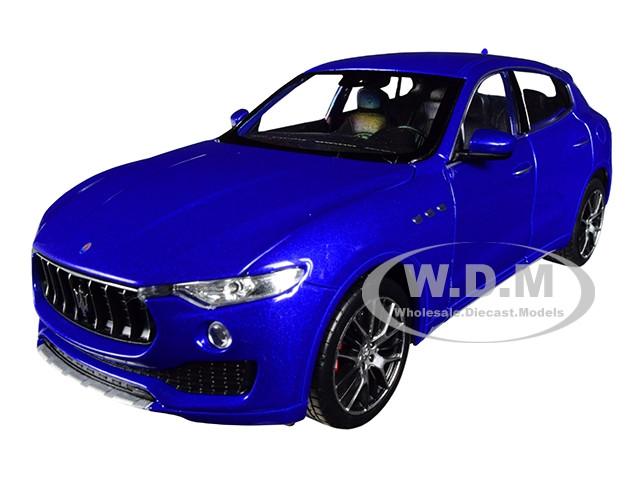 Maserati Levante Blue 1/24 1/27 Diecast Model Car Welly 24078