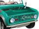 1976 Ford Bronco Twin Peaks Green Gas Monkey Garage 2012 TV Series 1/18 Diecast Model Car Greenlight 19034