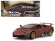 Lamborghini Murcielago LP 670-4 SV Matte Brown 1/24 Diecast Model Car Motormax 79503