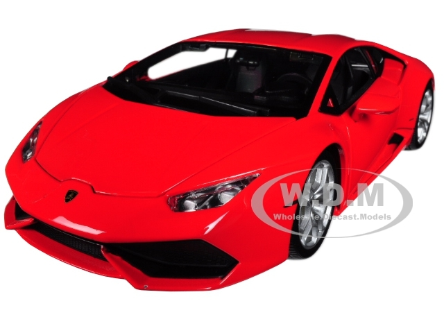 Lamborghini Huracan Lp 610 4 Red 1 18 Diecast Model Car Bburago