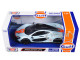 McLaren P1 Gulf Light Blue Orange Stripe 1/24 Diecast Model Car Motormax 79642