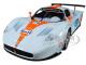 Maserati MC 12 Corsa #74 Gulf Light Blue Orange Stripe 1/24 Diecast Model Car Motormax 79643