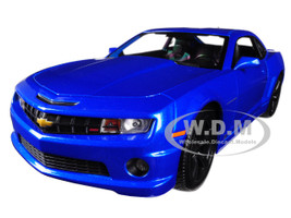 2010 Chevrolet Camaro RS SS Light Blue with Black Wheels 1/18 Diecast Model Car Maisto 31173