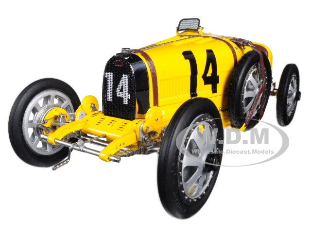Bugatti T35 #14 National Colour Project Grand Prix Belgium Limited Edition 500 pieces Worldwide 1/18 Diecast Model Car CMC 100B008