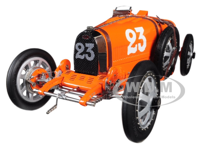 Bugatti T35 #23 National Colour Project Grand Prix Netherlands Limited Edition 500 pieces Worldwide 1/18 Diecast Model Car CMC 100B010