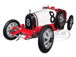 Bugatti T35 #8 National Colour Project Grand Prix Switzerland Limited Edition 300 pieces Worldwide 1/18 Diecast Model Car CMC 100B012
