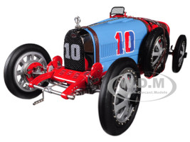 Bugatti T35 #10 National Colour Project Grand Prix Chile Limited Edition 300 pieces Worldwide 1/18 Diecast Model Car CMC 100B015
