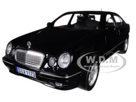 2001 Mercedes Benz E320 Black 1/18 Diecast Model Car Sunstar 1173