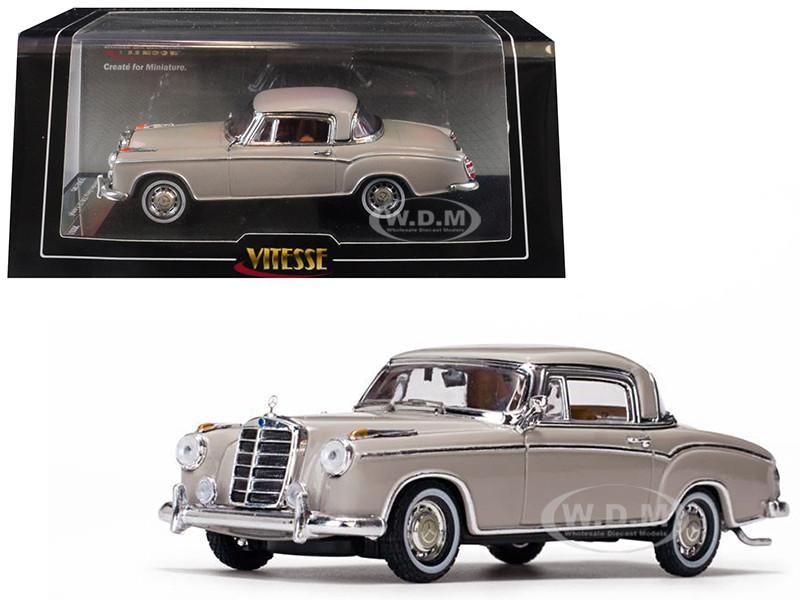 1958 Mercedes Benz 220 SE Coupe Cream 1/43 Diecast Model Car Vitesse 28661