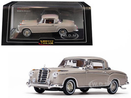 1958 Mercedes Benz 220 SE Coupe Cream 1/43 Diecast Model Car Vitesse 28661