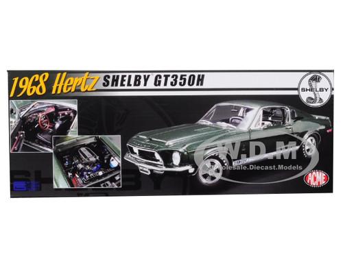 1:18 ACME 1968 HERTZ Shelby GT350H dark green NEW bei PREMIUM-MODELCARS