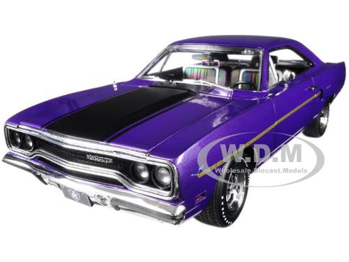 1970 Plymouth Road Runner Purple Graveyard Carz 2012 TV Series Season 1 Runnin' Down a Dream Limited Edition 732 pieces Worldwide 1/18 Diecast Model Car GMP 18897
