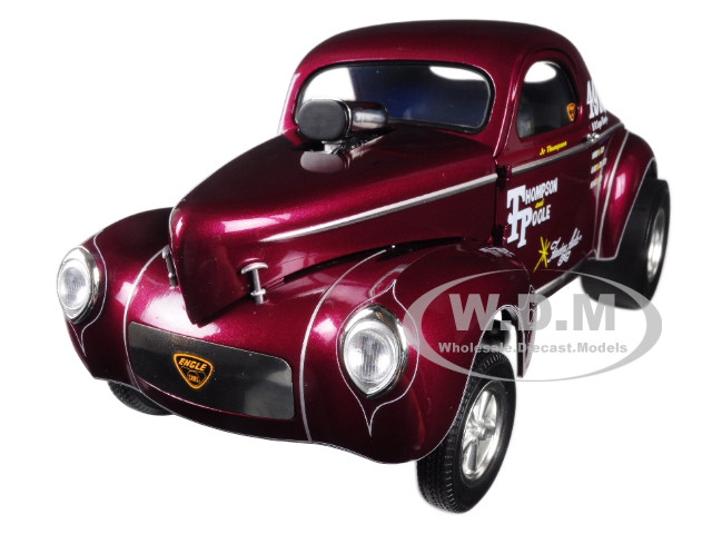 1941 Gasser Jr Thompson Poole Burgundy Limited Edition 600 pieces Worldwide 1/18 Diecast Model Car Acme A1800909