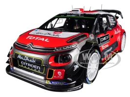 Citroen C3 WRC Rally 2017 Official Presentation Version 1/18 Diecast Model Car Norev 181630