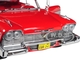 1958 Plymouth Fury Red Christine 1983 Movie 1/24 Diecast Model Car Greenlight 84071