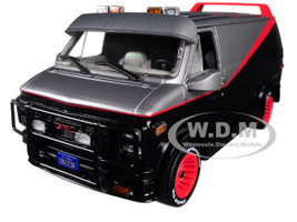 1983 GMC Vandura The A-Team 1983 1987 TV Series 1/24 Diecast Model Car Greenlight 84072