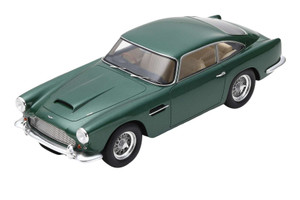 1960 Aston Martin DB4 Series II RHD Right Hand Drive Green 1/18 Model Car Spark 18S132