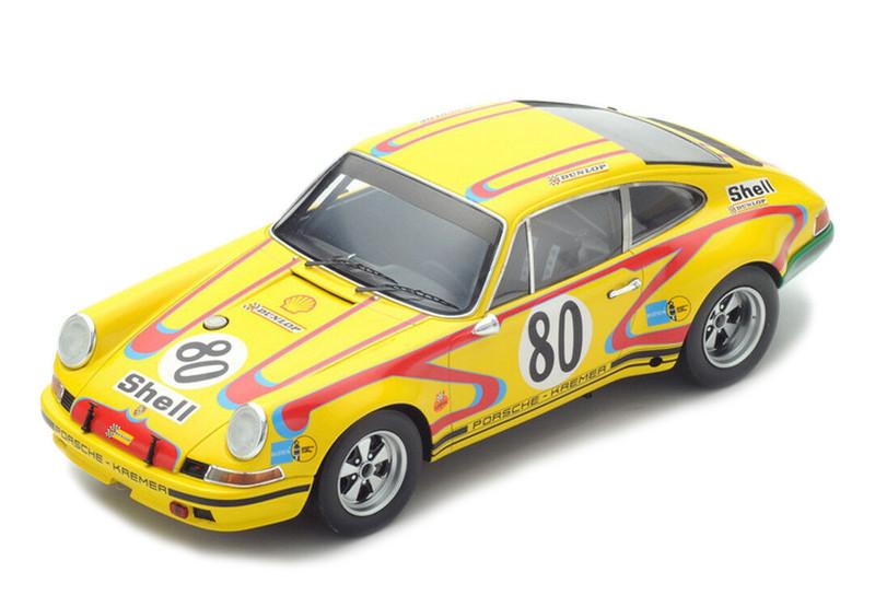 Porsche 911 2.5S #80 John Fitzpatrick Erwin Kremer Le Mans 1972 1/18 Model Car Spark 18S213