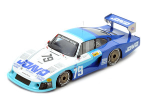 Porsche 935 Moby Dick #79 John Fitzpatrick David Hobbs 4th Place Le Mans 1982 1/18 Model Car Spark 18S286