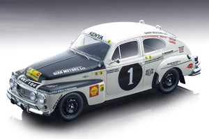 Volvo PV 544 #1 Joginder Singh Jaswant Singh Winner East African Safari Rally 1965 Mythos Series Limited Edition 110 pieces Worldwide 1/18 Model Car Tecnomodel TM18-106 A