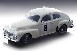 Volvo PV 544 #8 Tom Trana Gunnar Thermaenius Winner RAC Rally 1964 Mythos Series Limited Edition 70 pieces Worldwide 1/18 Model Car Tecnomodel TM18-106 B