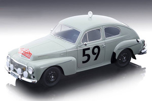 Volvo PV 544 #59 Tom Trana Sune Lindstrom Rally Monte Carlo 1964 Mythos Series Limited Edition 70 pieces Worldwide 1/18 Model Car Tecnomodel TM18-106 C