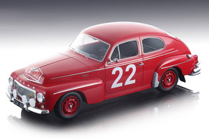 Volvo PV 544 #22 Jens Nielsen Henning Henriksen Rally Monte Carlo 1965 Mythos Series Limited Edition 60 pieces Worldwide 1/18 Model Car Tecnomodel TM18-106 D