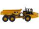 CAT Caterpillar 745 Articulated Hauler Dump Truck Removable Operator High Line Series 1/50 Diecast Model Diecast Masters 85528