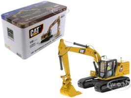 CAT Caterpillar 323 Hydraulic Excavator Operator Next Generation Design High Line Series 1/50 Diecast Model Diecast Masters 85571