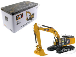 CAT Caterpillar 349F L XE Hydraulic Excavator Operator High Line Series 1/50 Diecast Model Diecast Masters 85943