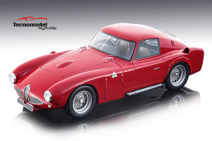 Alfa Romeo 6C 3000 CM Press Rosso Alfa 1953 Red Limited Edition 80 pieces Worldwide 1/18 Model Car Tecnomodel TM18-48 A