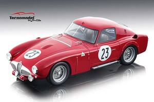 Alfa Romeo 6C 3000 CM #23 DNF Kling Riess 24 Hours of Le Mans 1953 Mythos Series Limited Edition 80 pieces Worldwide 1/18 Model Car Tecnomodel TM18-48 D