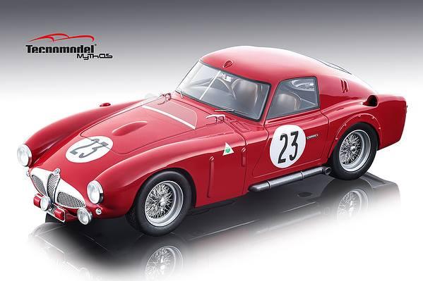 Alfa Romeo 6C 3000 CM #23 DNF Kling Riess 24 Hours of Le Mans 1953 Mythos Series Limited Edition 80 pieces Worldwide 1/18 Model Car Tecnomodel TM18-48 D