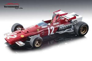 Ferrari 312B Car #12 Jacky Ickx Winner 1970 Grand Prix Austria Mythos Series Limited Edition 100 pieces Worldwide 1/18 Model Car Tecnomodel TM18-64 B