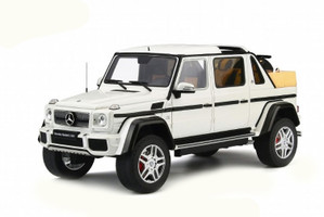 Mercedes Benz Maybach G650 Landaulet White Limited Edition 504 pieces Worldwide 1/18 Model Car GT Spirit Kyosho KJ022
