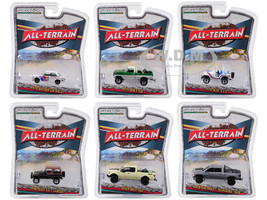 All Terrain Series 7 Set 6 Cars 1/64 Diecast Models Greenlight 35110