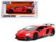 Lamborghini Aventador SV Gloss Red 1/24 Diecast Model Car Jada 99705