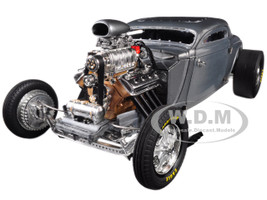 1934 Blown Altered Coupe Raw Steel Southern Speed Marine Limited Edition 630 pieces Worldwide 1/18 Diecast Model Car GMP 18880