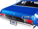 1969 Chevrolet Yenko Nova Blue White Stripes Limited Edition 1002 pieces Worldwide 1/18 Diecast Model Car Autoworld AMM1135