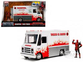 Deadpool Taco Truck Deadpool Diecast Figure Marvel Series Diecast Model Jada 99730