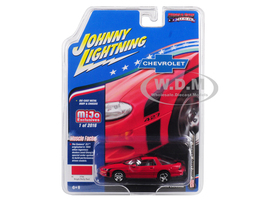 2002 Chevrolet Camaro ZL1 427 Red Muscle Cars USA Limited Edition 2016 pieces Worldwide 1/64 Diecast Model Car Johnny Lightning JLCP7138