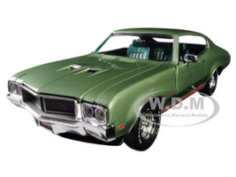 1970 Buick Grand Sport GS 455 Hardtop MCACN Muscle Car Corvette Nationals Seamist Green Limited Edition 1002 pieces Worldwide 1/18 Diecast Model Car Autoworld AMM1149